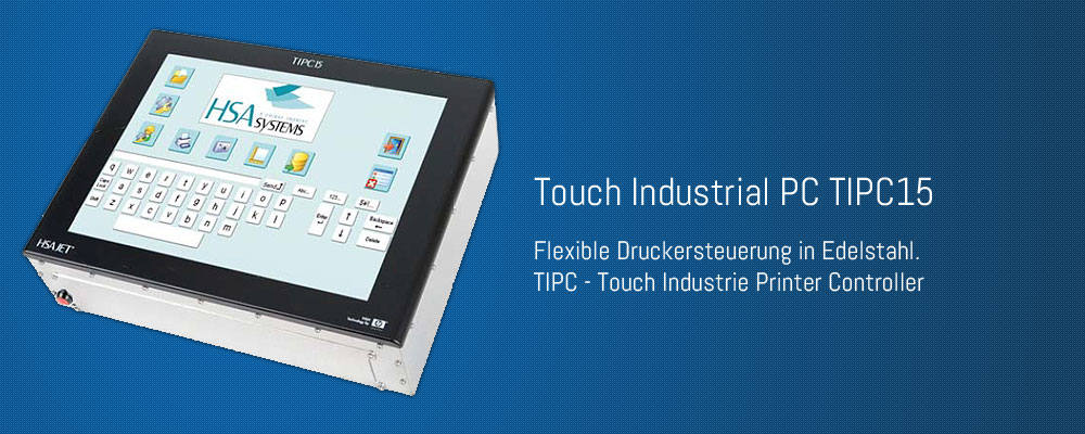 Touch Industrial PC (TIPC15)